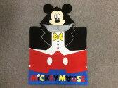 【配送は宅配便のみ!】ディズニー ミッキーマウスフード付きポンチョ(タオル) 【楽ギフ_包装】05P10Jan15【Disneyzone】