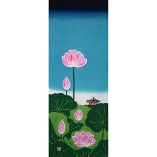 手ぬぐい「日本の夏」麻布十番麻の葉
