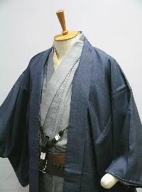 お仕立上り 正絹男物 袷羽織 -単品- [ 0509-203 ]