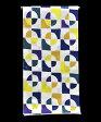 ◆SOU・SOU◆ 女物ゆかた −万華鏡 月光− [ 1604-2024 ]  【浴衣・仕立て・フルオーダー・女性・反物・綿・花火・お祭り・夏・日本製・ソウソウ・幾何学・白・紫・紺・黄色・sousou】