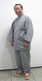 Basic 無地調作務衣 −M・Lサイズ− [ 0608-201 ]【男性・男物・紳士・メンズ・綿・めん・シ...