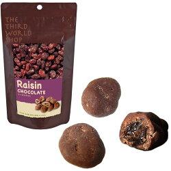 【予約品(11月中旬入荷予定)】フェアトレードチョコレートレーズンチョコ*-*有機栽培カカオ×スイスの伝統技法*-*極上フェアトレードチョコレート