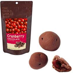 フェアトレードチョコレートクランベリーチョコ*-*有機栽培カカオ×スイスの伝統技法*-*極上フェアトレードチョコレート