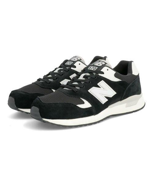 newbalanceニューバランスML570メンズスニーカー210570BNH GF ブラック