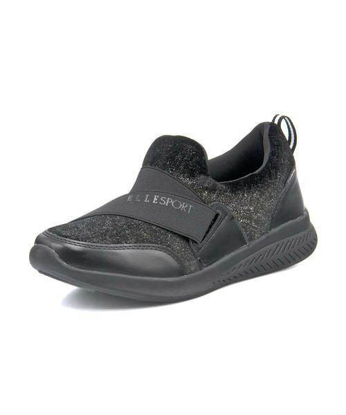 レディース靴, スリッポン ELLE SPORT ESP12705 ASBee
