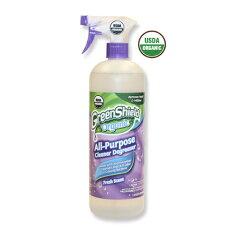 世界初!USDAオーガニック認証を取得したクリーナー【Green Shield Organic (グリーンシールド...