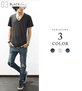 ドライTシャツ メンズ 半袖 Tシャツ カットソー Vネック ドライ 吸汗 速乾 UVカット スポーツ 白 黒 インナー カジュアル ビジネス