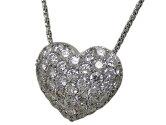 ネックレスK18WG/ダイヤモンド1.352ct