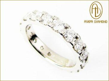 ダイヤモンド・フルエタニティリング/2.0ctプラチナ900指輪/芦屋ダイヤモンド/極KIWAMI/P19Jul15「39ショップ」