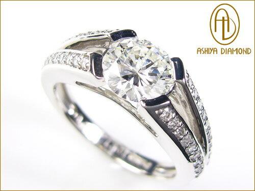 天然ダイヤモンドリング/1.021ct/VS1/プラチナ900指輪/P19Jul15「39ショップ」