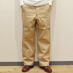 バズリクソンズ チノパン BUZZ RICKSON'S EARLY MILITARY CHINOS 1942 MODEL BEIGE(01)