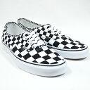 VANS バンズ AUTHENTIC(Mix Checker) Lifestyle Black/TRUE WHITE VN0A38EMQ9B