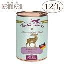 テラカニスグレインフリー鹿肉(ベニソン)400g12缶セット 犬用缶詰一般食穀物不使用ドッグフードウェットフード無添加野生の鹿とポテトアップルクランベリー送料無料おまけつき 主食 手作り食 トッピング 水分補給