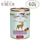 テラカニスグレインフリー鹿肉(ベニソン)400g6缶セット 犬用缶詰一般食穀物不使用ドッグフードウェットフード無添加野生の鹿とポテトアップルクランベリー送料無料 主食 手作り食 トッピング 水分補給