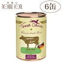 テラカニスピュアミートビーフ400g6缶セット お肉屋さんのベストセレクト犬用缶詰ドッグフードウェットフード無添加 トッピング 手作り食 水分補給牛肉送料無料