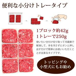 馬肉ペット/生馬肉小分けトレー10g