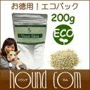 【7月限定】犬 乳酸菌 サプリメント/イーストスリム お得エコパック 200g/ペット 猫 プロバイオティック ビール酵母 ビタミン ケルプ/…
