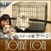 犬用|スチール製 ケージ Mサイズ|シンプリーメゾンS DMM24