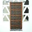 【メール便対応】バリ島の独特な模様が入った手織りの アジアン イカット[190x46][10262]【ファブリック 生地 壁掛け イカットハンガー ウォールデコレーション テーブルランナー テーブルライナー タペストリー 民族織り クロス バリ雑貨 アジアン雑貨】