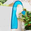 ウンブルウンブル バリ島の旗 ブルー [10232]【 フラッグ デコ...
