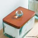 【2色展開】ウッドにガラスの取っ手がついたフタ(66310)【ガラス ...