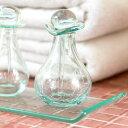 ガラスのスパボトル[Cタイプ][66319]【アロマ オイルボトル 瓶 アメニティ 癒し おしゃれ  ...