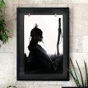 アートポスター モノトーン インディアン 70×50cm [66719...