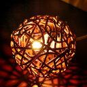 アジアン照明 ラタンコロコロランプ[4202]【アジアンランプ スタンド フロアライト フロアランプ ...