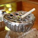 蓮の花托をモチーフにしたオシャレなアルミ製灰皿[10879]【灰皿 おしゃれ 灰皿 フタ付 おしゃれ ...
