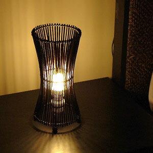 バンブー素材のランプ