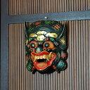 バロンのお面[ブラック][9806]【バリ 雑貨 アジア雑貨 アジアン雑貨 新生活】【バリ島のアジアンマスク】