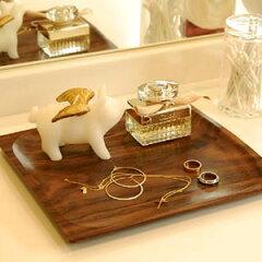 ◆ アクセや小物を置くのにちょうどいいアジアン雑貨トレイ&トレーアジアンローズウッドトレイ...