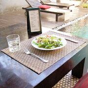 ウォーター ヒヤシンス アジアンランチョンマット キッチン テーブル プレースマット プレイスマット ランチョン アジアン リゾート