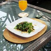 アジアン ランチョン オーバル アジアンランチョンマット テーブル プレースマット エスニック おしゃれ キッチン