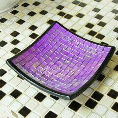 ◆高級感のある華やかな雰囲気に仕上がるアジアン雑貨ラメの入ったモザイクガラスのデコレーシ...