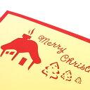 【メール便対応】ポップアップクリスマスカード『トナカイと雪だるま』[vn50465]【グリーティングカード メッセージカード ポップアップ 飛び出すメリークリスマス Merry Christmas サンタクロース クリスマスツリー トナカイ メッセージカード 立体 アジアン雑貨】