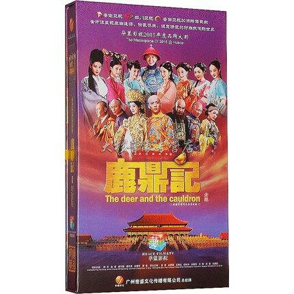 中国ドラマ/ 鹿鼎記 -全50話-[2014年・韓棟主演] (DVD-BOX) 中国盤 The Deer and the Cauldron 新鹿鼎記