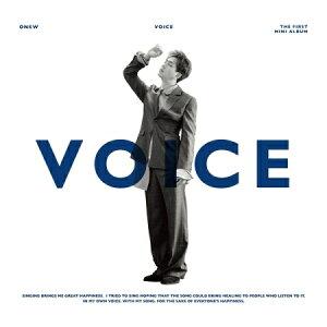 【メール便送料無料】オンユ(SHINee)/ VOICE -1st Mini Album ※ランダム発送 (CD) 韓国盤 シャイニー ONEW オニュ ヴォイス ボイス