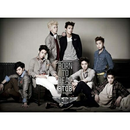韓国(K-POP)・アジア, 韓国(K-POP) BTOB BORN TO BEAT -1st Mini Album (CD) B TO B