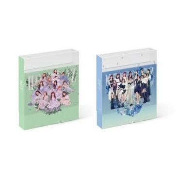 【メール便送料無料】IZ*ONE/ HEART*IZ -2nd Mini Album ※ランダム発送 (CD) 韓国盤 IZONE アイズワン IZ ONE ハート・アイズ HEART IZ