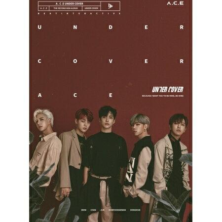 韓国(K-POP)・アジア, 韓国(K-POP) A.C.E UNDER COVER -2nd Mini Album (CD) ACE