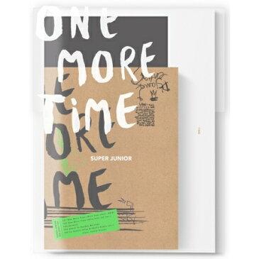 【メール便送料無料】SUPER JUNIOR/ ONE MORE TIME -Special Mini Album <通常版> (CD) 韓国盤 スーパージュニア ワン・モア・タイム スペシャルミニアルバム