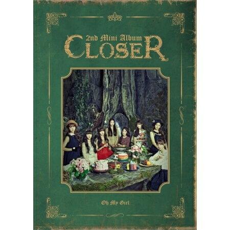 韓国(K-POP)・アジア, 韓国(K-POP) OH MY GIRL CLOSER -2nd Mini Album (CD)