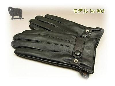 メンズ羊革レザー手袋