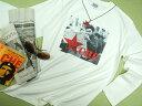 チェ・ゲバラの長袖Tシャツ【サイズ:S 、XM (大きめM)、L 、XL 】【5000円以上で】送料無料 Tシャツ メンズ 長袖 ロンT プリント ゲバラ チェゲバラ Tシャツ 父の日 プレゼント包装無料