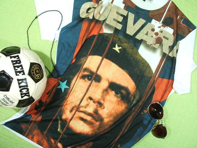 チェ・ゲバラのTシャツ【サイズ:L 】【5000円以上で】送料無料 Tシャツ メンズ 半袖 大きいサイズのTシャツ チェ・ゲバラTシャツ キューバ国旗 ゲバラTシャツ ラッピング無料 CHE GUEVARA Tshirt