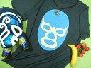 メキシコ・ルチャ&世界の格闘技Tシャツ【サイズ:S 、M 、XL 】【5000円以上で】送料無料大きいサイズシャツメンズ半袖プリントTシャツメンズプロレスメキシコルチャブルーデーモン格闘技Tシャツ無料ラッピング