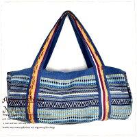 【50%★OFF】【SALE】【セール】ボストンバッグバッグ民族衣装個性的ボストンレディースladiesショルダーバッグ旅行アウトドアに便利な大容量のボストンバッグ♪