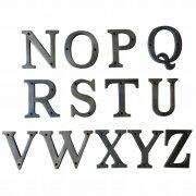 真鍮アルファベットN〜Z真鍮製切り文字ブラスアンティークレプリカ10cmNOPQRSTUVWXYZ【メール便】