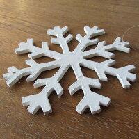 雪の結晶吊り下げMDFクリスマスデコレーション
